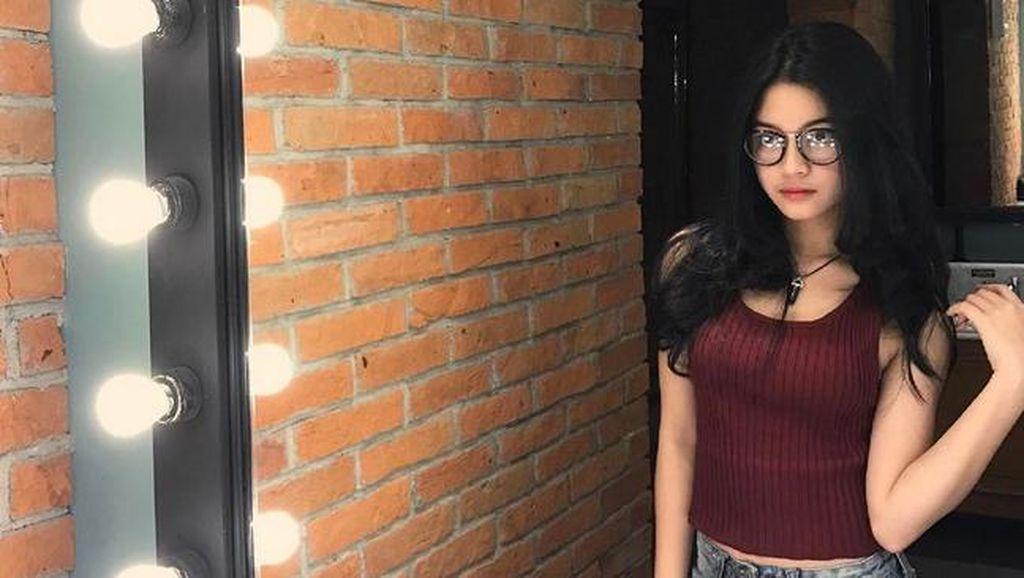 Jelang UN SMP, Yoriko Angeline Kebut Belajar
