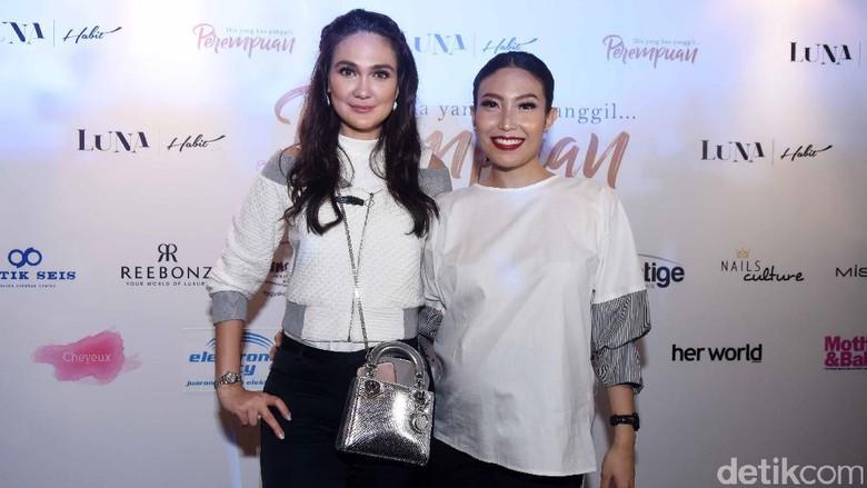 Ayu Dewi-Luna Maya Keluar dari Grup Geng Mentri Ceria, Kenapa?