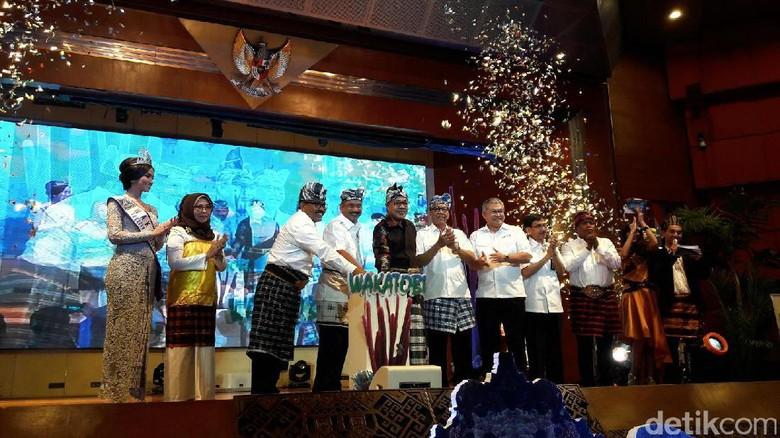 Foto: Peluncuran calendar of event Wakatobi (Kurnia/detikTravel)