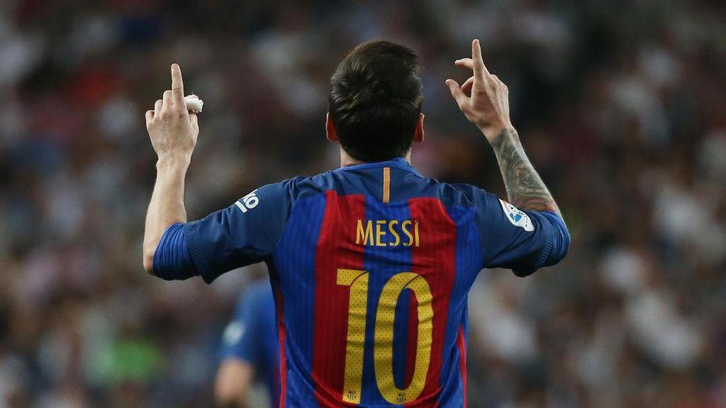 Totti: Messi Pasti Mau Kenakan Nomor 10 Roma, Kalau Tidak...