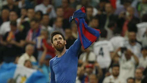 Messi Capai 500 Gol di Barcelona