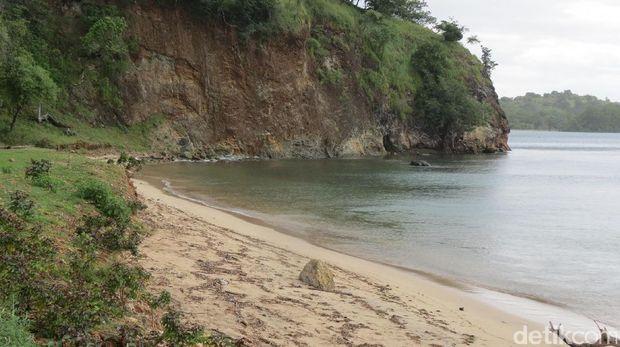 Serasa pantai pribadi (Fitraya/detikTravel)