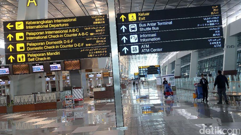 Pengumuman, Ongkos Pelayanan di Bandara Soekarno-Hatta Naik