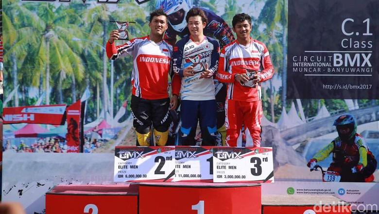 Pebalap Jepang Berjaya di Banyuwangi International BMX 2017