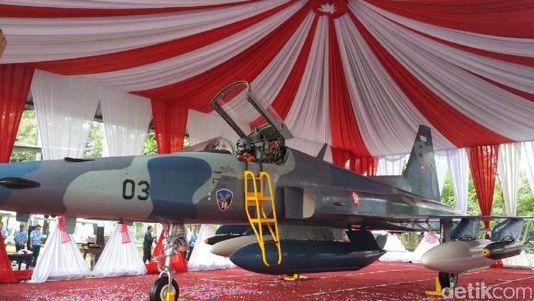 Sejarah Panjang Pesawat F-5 Tiger Menjaga NKRI