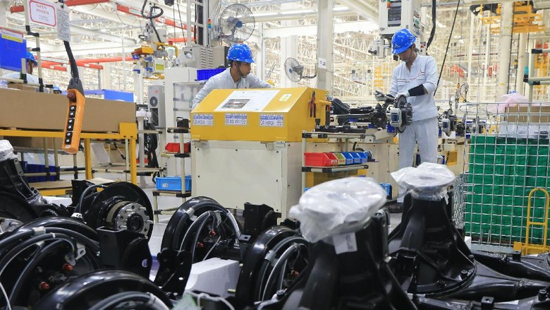 Pabrik Mobil Mitsubishi di Cikarang, Jawa BArat