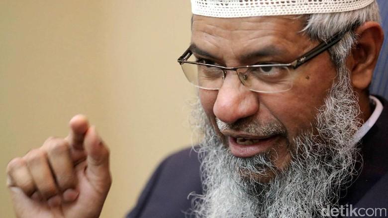 Politikus Malaysia: Hanya Musuh Islam yang Ingin Zakir Naik Dideportasi