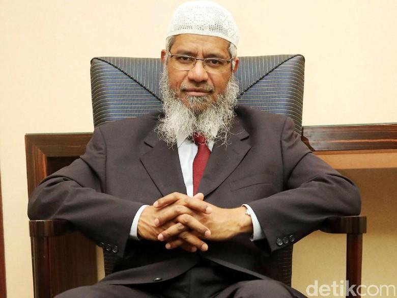 Zakir Naik Kembali Datangi Markas Polisi Diraja Malaysia