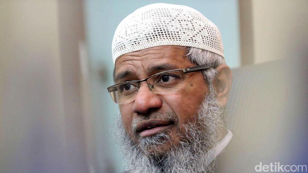 Zakir Naik Diperiksa 7 Jam di Markas Polisi Diraja Malaysia