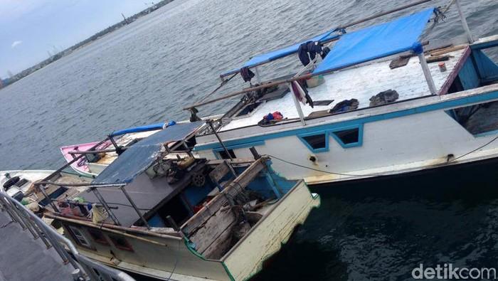 Ilustrasi kapal pencuri ikan yang ditangkap beberapa waktu lalu (Foto: Pool)