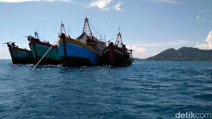 Kapal Pencuri Ikan (Foto: Pool)