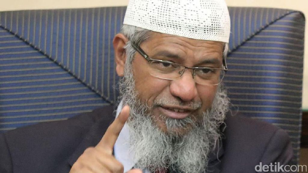 Polisi Malaysia Terima 515 Laporan Soal Zakir Naik, Penyelidikan Hampir Selesai