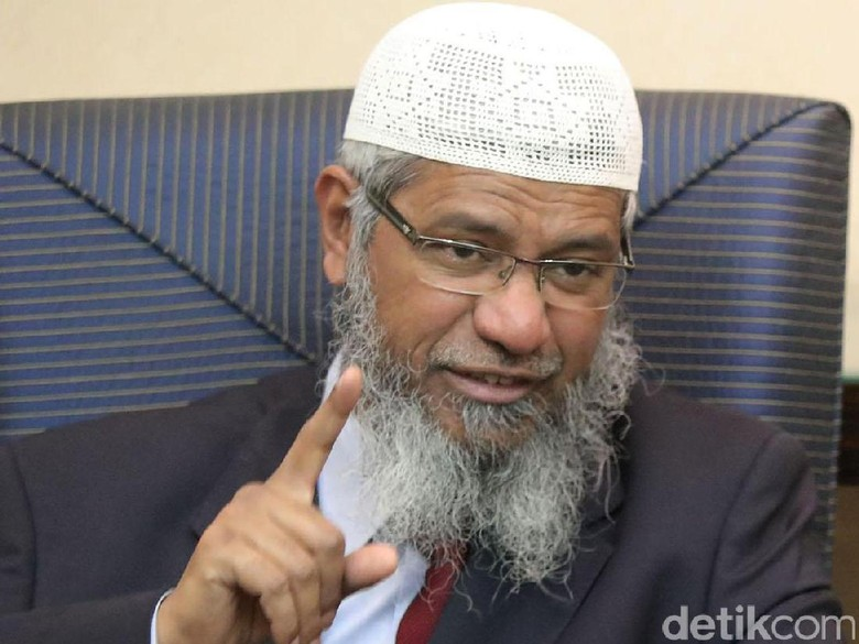 Polisi Malaysia Larang Ulama Zakir Naik Ceramah di Perlis