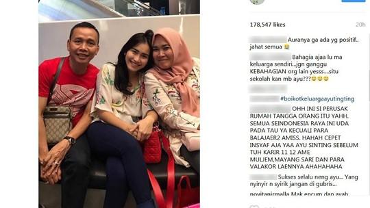 Duh, Ramainya Komentar Harga Otak di Instagram Ayu Ting Ting