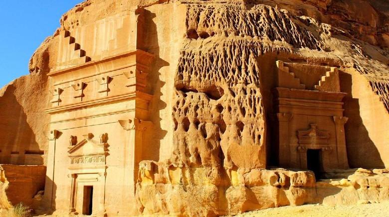 Foto: Madain Saleh, kota kuno di Arab Saudi (BBC Travel)