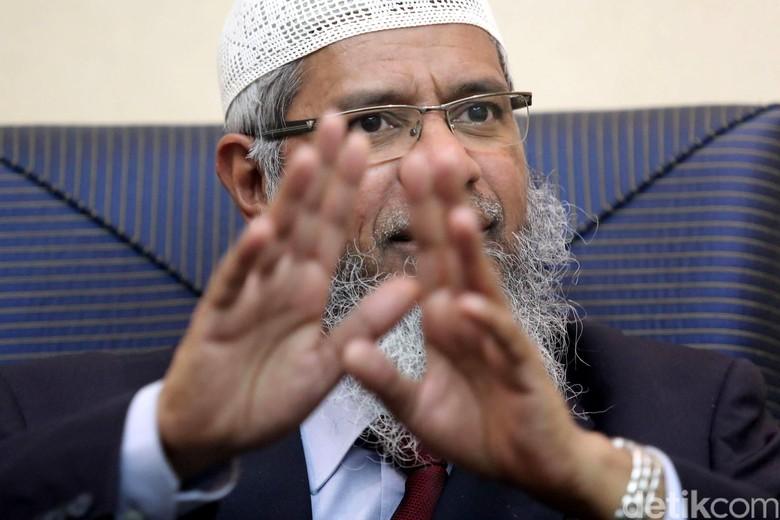 Diselidiki Kasus Provokasi, Zakir Naik Berjam-jam Diperiksa Polisi