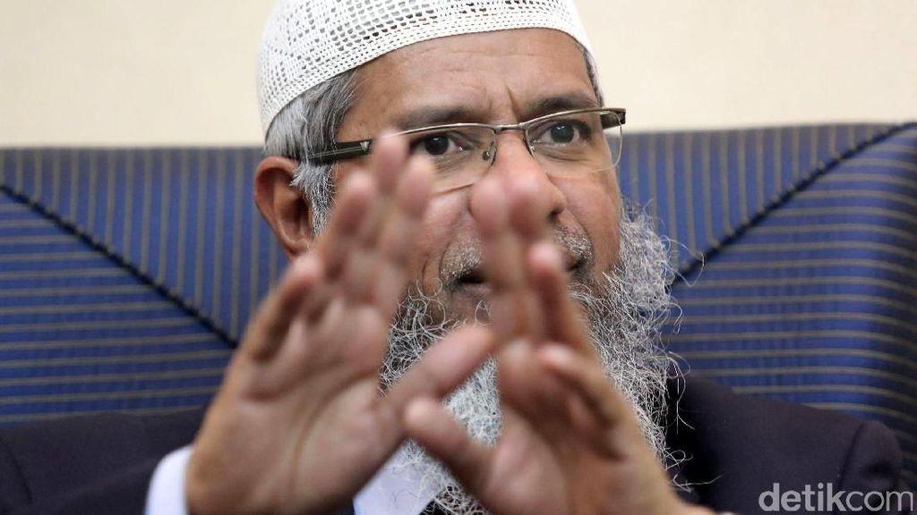 Pemerintah India Dorong Interpol Rilis Red Notice untuk Zakir Naik