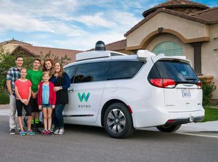 Foto ilustrasi kendaraan beroda empat otonom Google: istimewa
