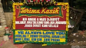 Pedagang Bunga untuk Ahok Ini Sudah 7 Tahun Jadi Langganan Megawati