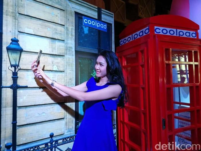 Ponsel Coolpad. Foto: detikINET/Muhammad Alif Goenawan