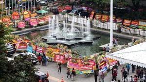 Pemesan Karangan Bunga untuk Ahok Ada yang dari Hong Kong