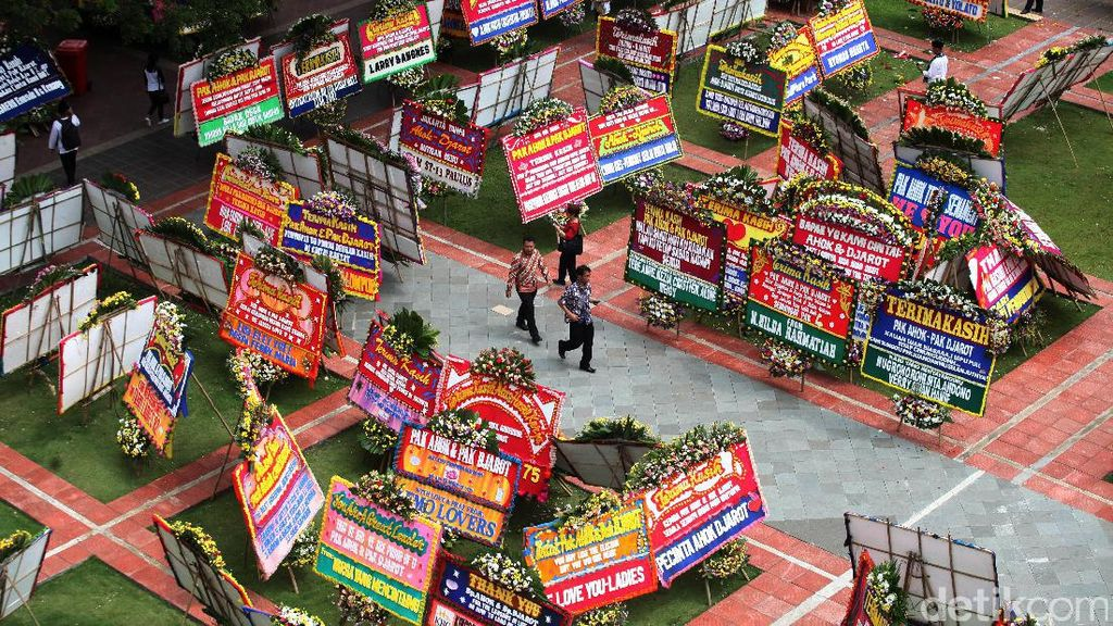 Pedagang Bunga Raup Omzet hingga Rp 100 Juta 2 Hari di Zaman Ahok