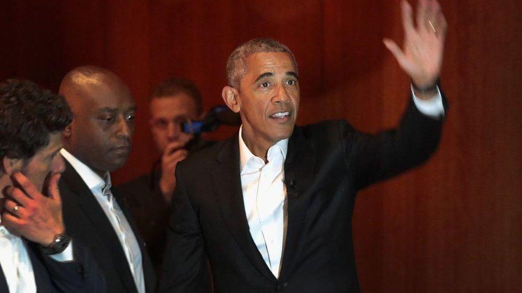 Terima Miliaran Untuk Ceramah di Wallstreet, Obama Dikecam