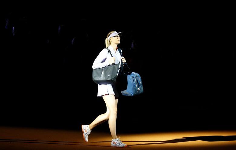 Sharapova Mengayun Lagi, Melenguh Lagi