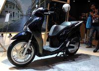 Honda SH150i saat diluncurkan pertama kali di Indonesia pada 2017.