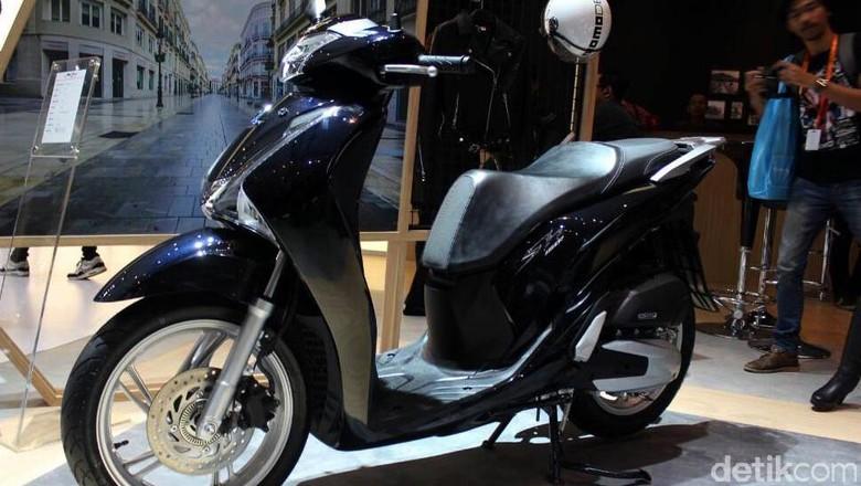 Honda Sh150i Foto: Rangga Rahadiansyah