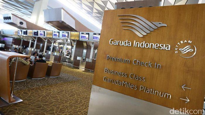 Garuda Indonesia/Foto: Hasan Alhabshy