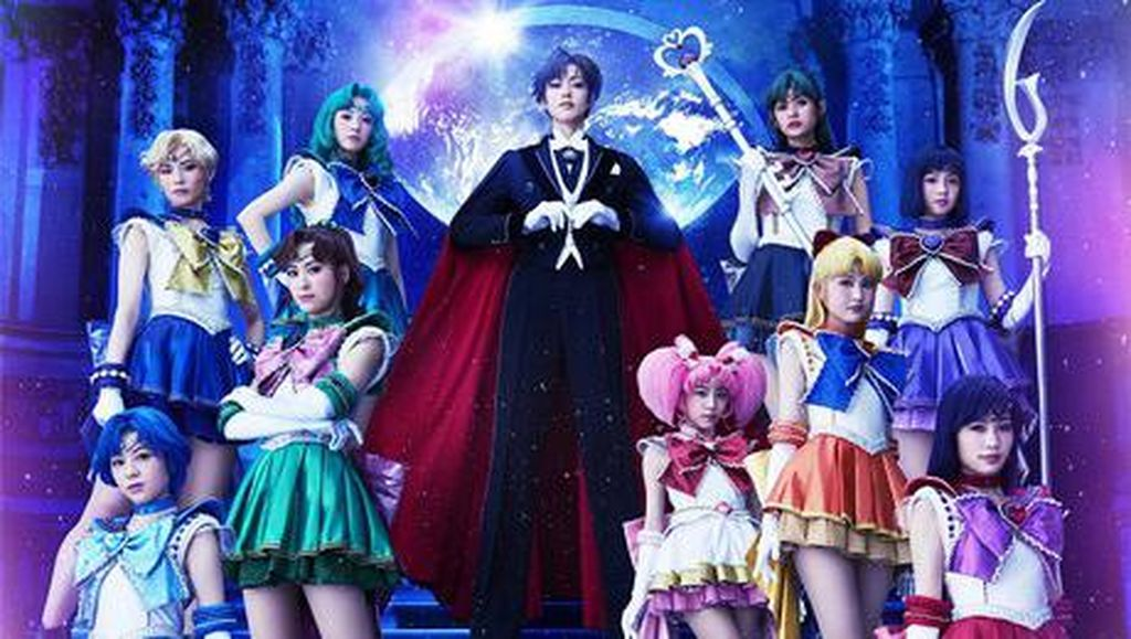 Pertunjukan Musikal Sailor Moon Melaju ke AS