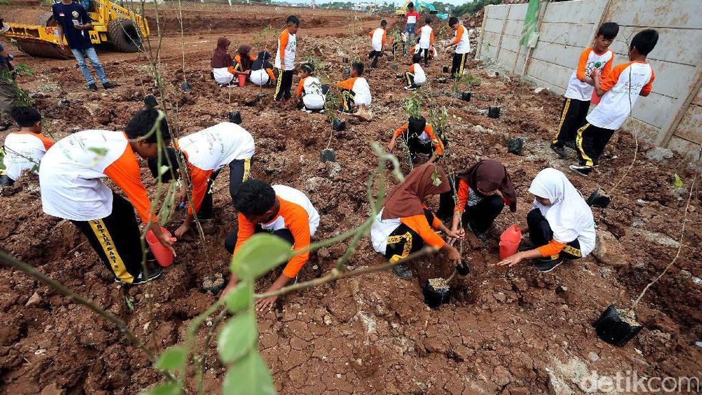 15 Ribu Pohon Produktif Hijaukan Kota Bandung