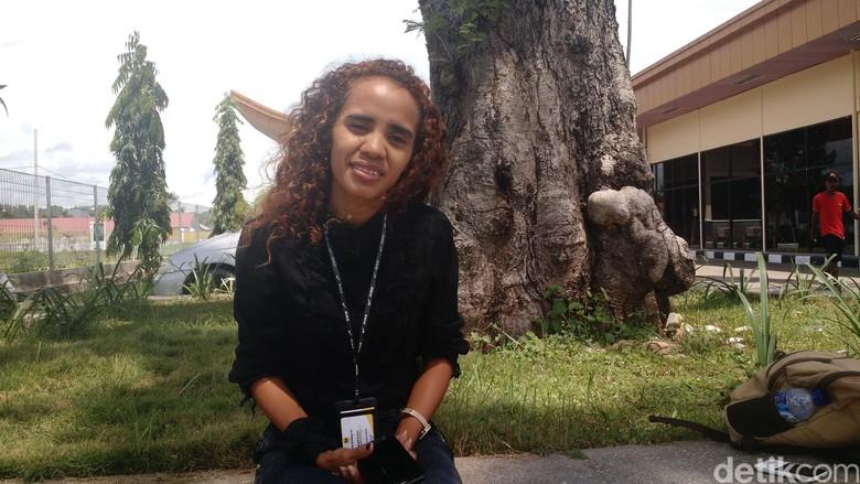 TV Jakarta Tembus ke Timor Leste, Brigida Fasih Bahasa Indonesia