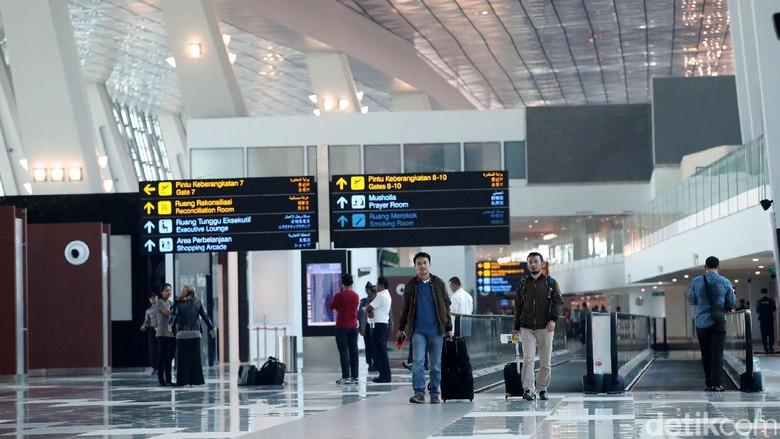 Foto: Terminal 3 Bandara Soekarno Hatta (Grandyos Zafna/detikFoto)