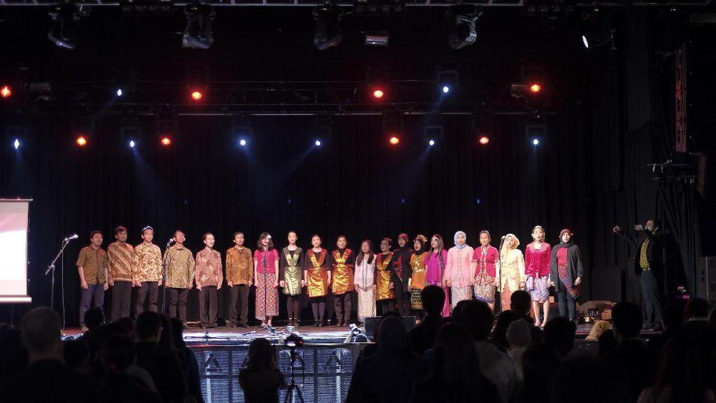 Top! Pelajar Indonesia Gelar Festival Budaya di Manchester