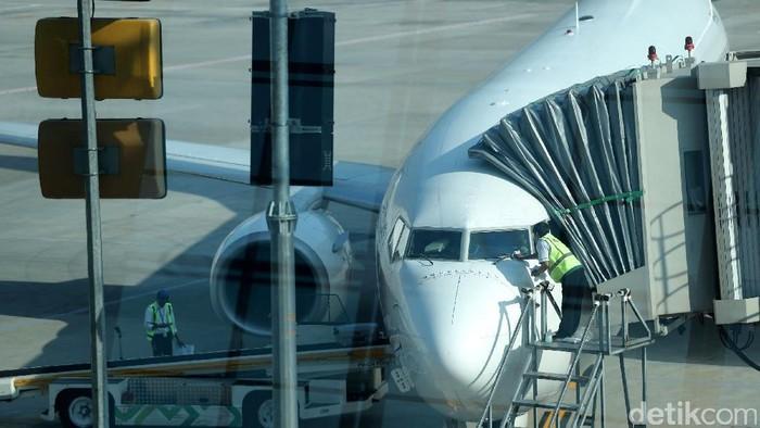 Terminal 3 Bandara Internasional Soekarno-Hatta (Soetta) resmi melayani penerbangan internasional, Senin (1/5/2017). Garuda Indonesia jadi maskapai pertama yang melayani penerbangan rute luar negeri di terminal yang sebelumnya bernama Terminal 3 Ultimate tersebut.