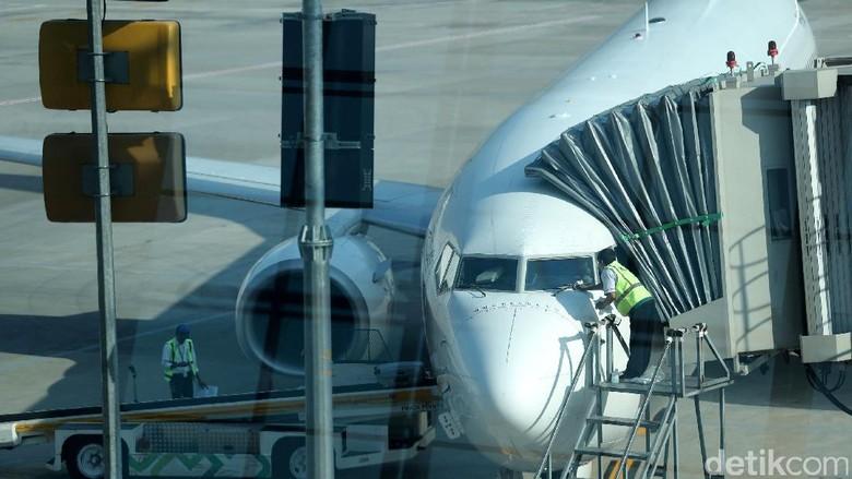 Foto: Ilustrasi pesawat (Grandyos Zafna/detikTravel)