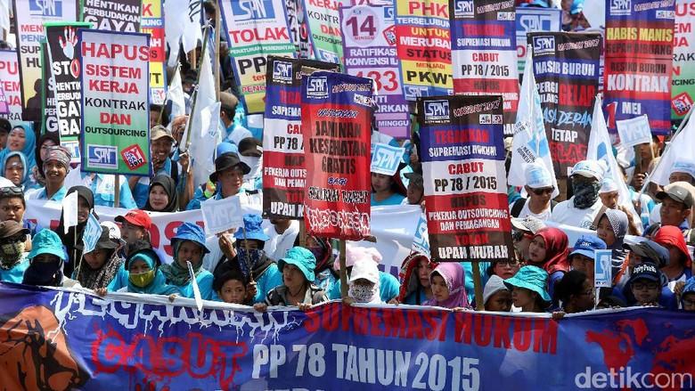 Umumkan Capres Saat May Day, Serikat Buruh Minta Jatah Menteri