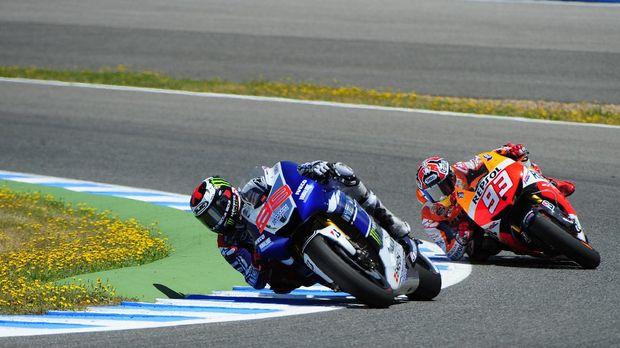 Jorge Lorenzo bakal berusaha menantang Marc Marquez di tim yang sama musim depan.