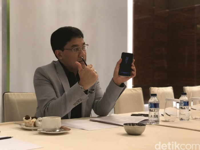 Denny Galant. Foto: detikINET/Adi Fida Rahman