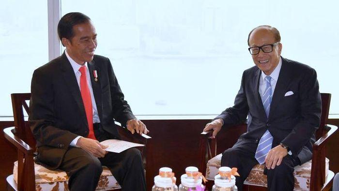 Presiden Joko Widodo bertemu Orang Terkaya Kedua di Asia, Li Ka Shing (Foto: Biro Pers Setpres)