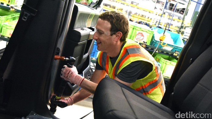 Mark Zuckerberg. Foto: Ford