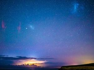 Memotret Tiga Keajaiban Alam di Langit Australia