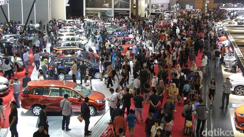 Indonesia International Motor Show Foto: Dyandra Promosindo