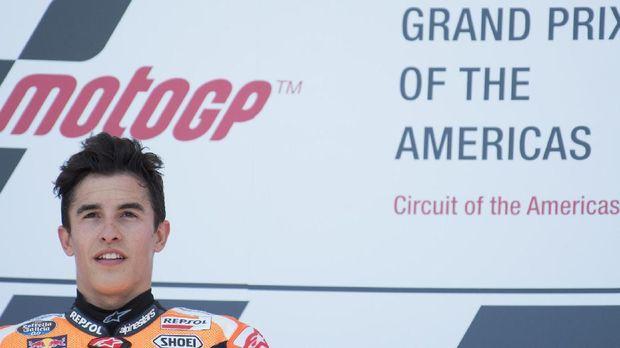 Marc Marquez menyapu bersih kemenangan MotoGP Amerika sejak 2013.