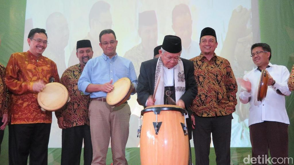 KH Maruf Amin, Anies, dan Bachtiar Nasir Hadiri Islamic Book Fair