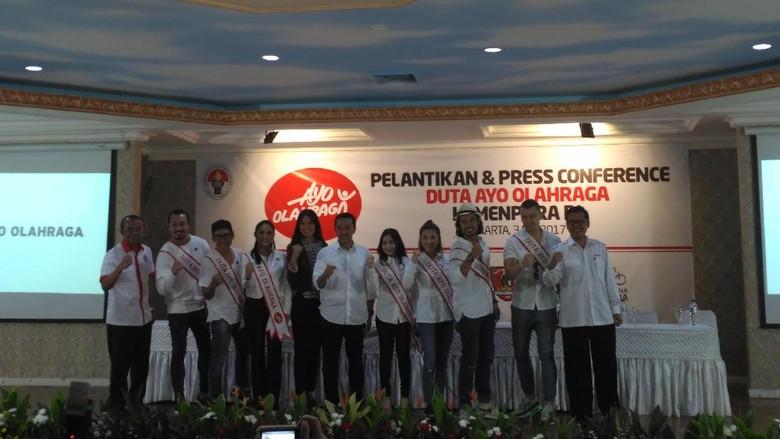Krisdayanti dan Prilly Latuconsina: 2 dari 9 Duta Ayo Olahraga