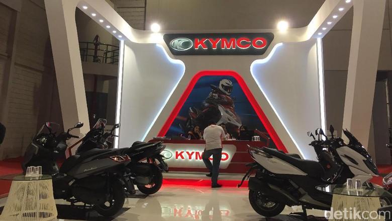 Kymco di IIMS tahun 2017 lalu (Foto: Dadan Kuswaraharja)