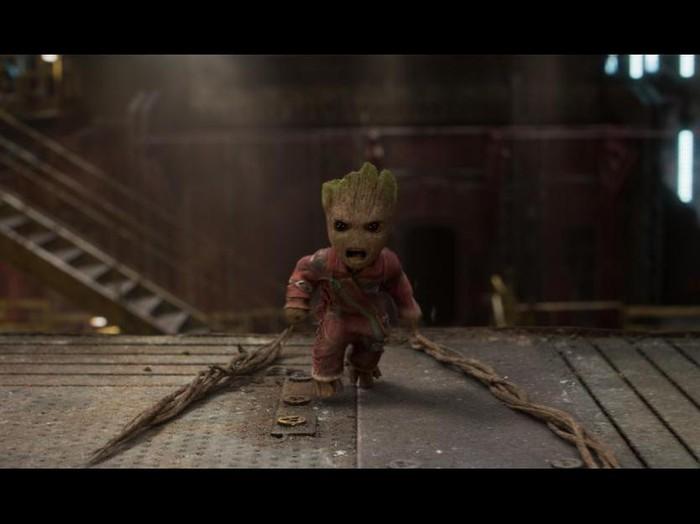 Screen shoot film Guardian of the Galaxy Vol.2.